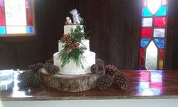 Proctor Farm wedding cake