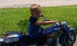 My Harley boy, Zai