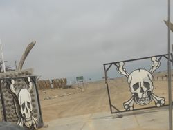 we needed a permit to get thru the first section of Skeleton Coast