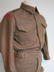 40 Pattern BD blouse £145 brown serge