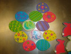 Decorated Easter eggs $3 each