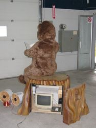 Storyteller BEAR audio animatronic