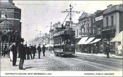 West Bromwich. 1909.