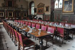 Dining Hall, Trinity College, Oxford