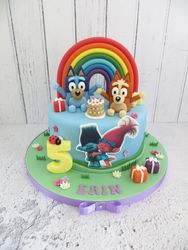 Erin's 5th Birthday Cake