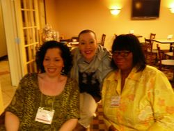 The ladies of the hour - Millie, Pat and Valarie