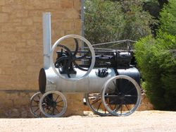 The old steamer at Morgan