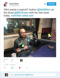 BBC ESSEX FM appearance 07/04/2016