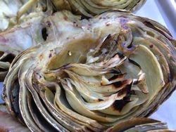 Lemon-Garlic Grilled Artichokes