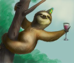There Ain't No Party Like a Sloth Club Party