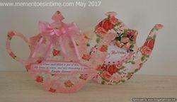 Teapot Cards - Floral
