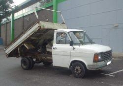 1980s transit tipper truck