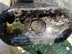 The bottom of the rare Turners sarsaparilla