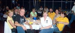 Northern Gateway Members enjoying the Saturday night Dinner at Coffs Capers - Nov 2005