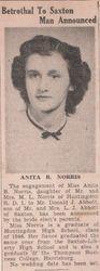 Anita B. Norris Wedding Engagement