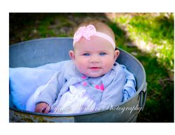 Infant posing