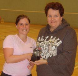 Handicap Tournament Ladies Singles Winner