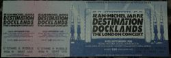 Unused Docklands Ticket