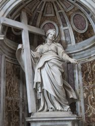 Statue of St. Helena from the Basilica of St. Peter.