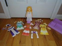 Melissa & Doug Magnetic Dress Up Princess - $6
