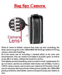 Bag Spy Camera
