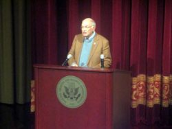 Martin Frost at Beyond Charlottesville at National Archives and Records Administration