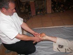 zone réfflexe des pieds