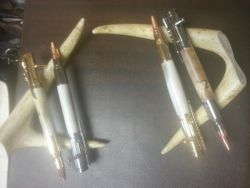 Deer Antler Pens Bolt Action