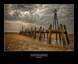 The End of Old St Annes Pier-St Annes-Lancashire-England