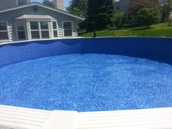 Pool Filled with water
