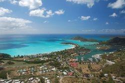 View of Jolly Bay, Antigua