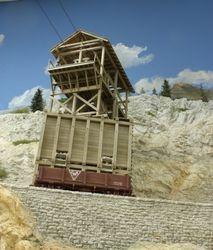 Lower tram house - Eagle Mine