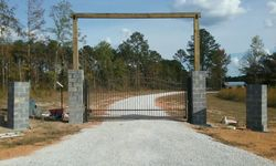 Custom Gate Entrance