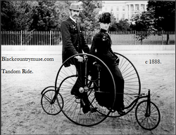 On a Bicycle made for two. 1903.