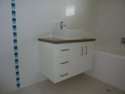 Wall Mounted Vanity (after).