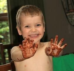 Max loves Choc Cake