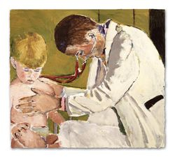 Examination of Small Child