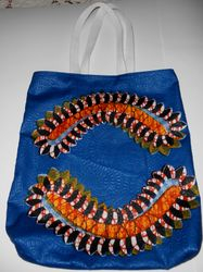 African tote on Etsy