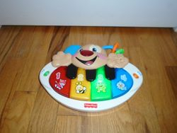 Fisher Price Laugh & Learn Puppy's Piano - $8