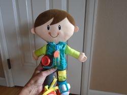 Playskool Fastening Learn To Dress Doll - $17