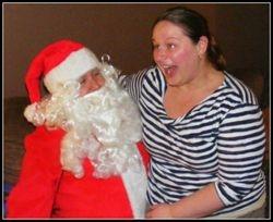 A vist from Santa