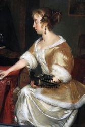 Ter Borch, Music Lesson, 1660s, Cincinatti