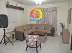 Sala con aire acondicionado y TV