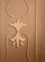 American Clay With Relief
