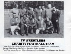 Wrestlers football team
