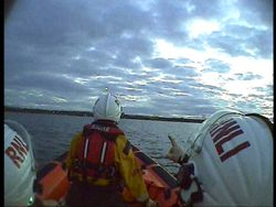 Skerries RNLI respond to reports of distress flares