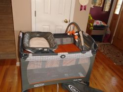 Graco Pack 'n Play Playard with Reversible Napper and Diaper Changer - $70