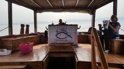 Sailing on the Sea of Galilee