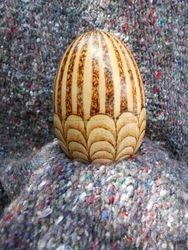 Wooden 2-part egg