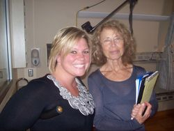 With producer Susan 7-26-11